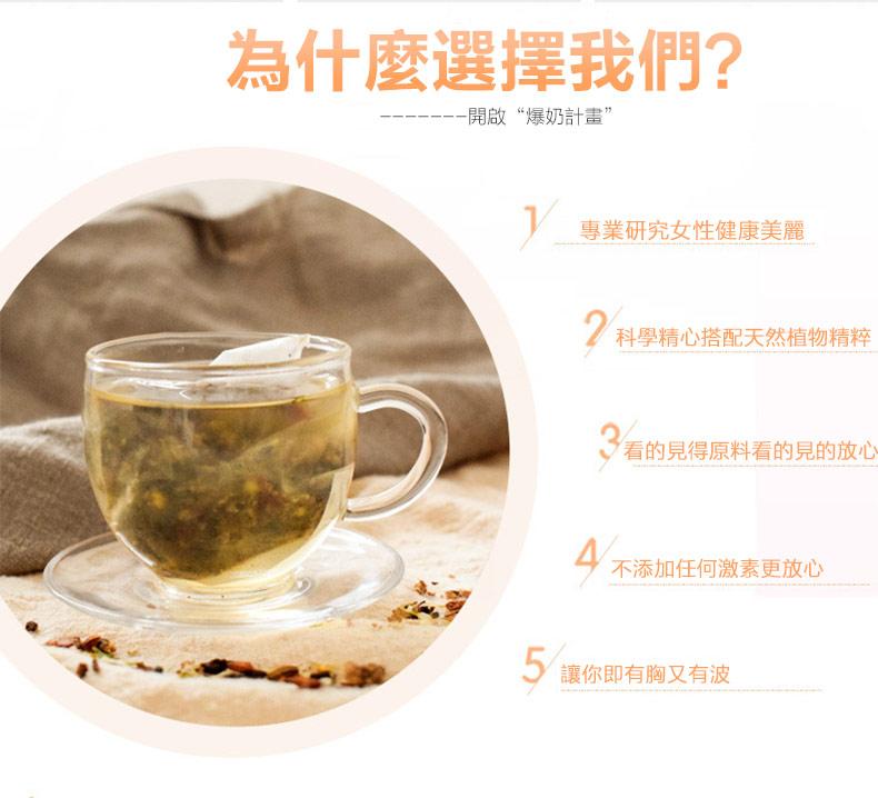 木瓜葛根豐挺茶